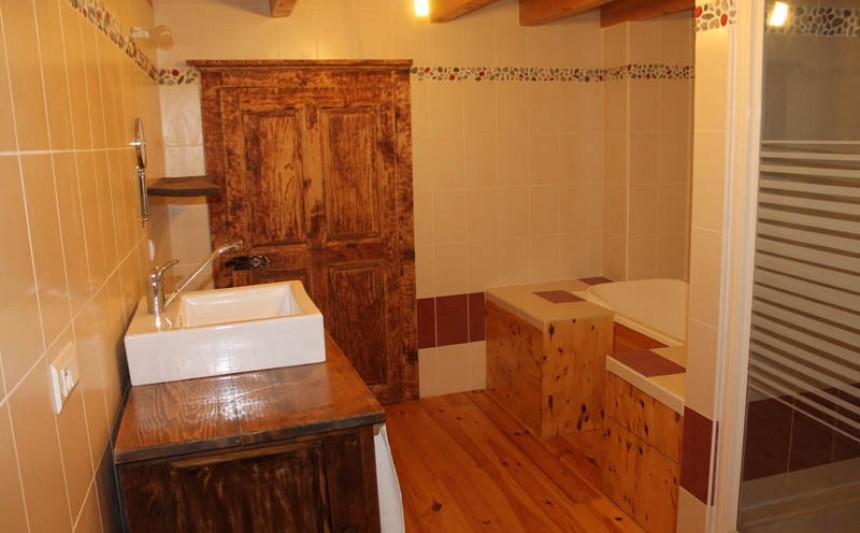 Agencement de salle de bains à Annecy