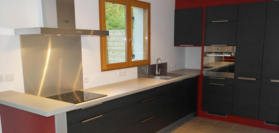 Pose de cuisine à Annecy et Haute-Savoie